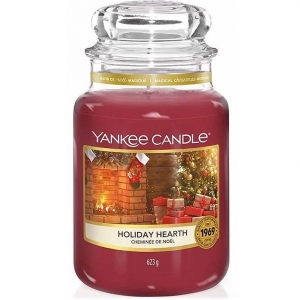 Yankee Candle Sviečka Yankee Candle 623gr - Holiday Hearth